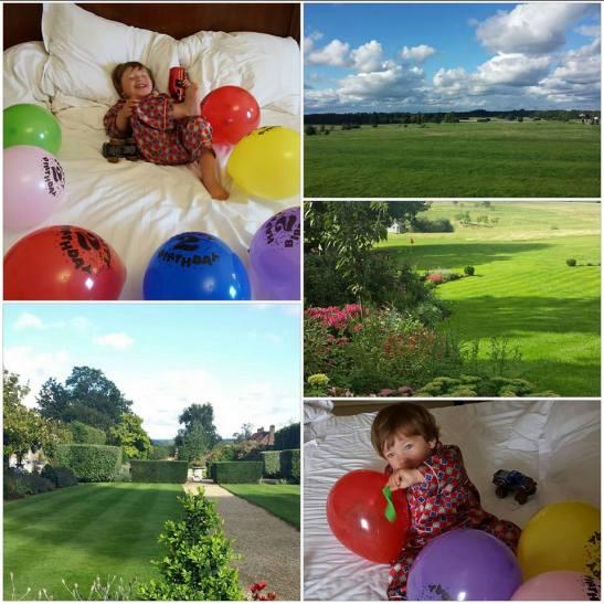 Weekend break Hampshire with kids : Four Season Hotel birthday celebrations