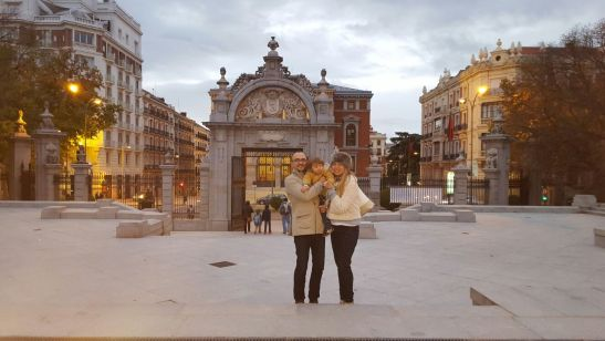 2 days in Madrid with toddler