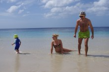 Babymoon with toddler Grenadines