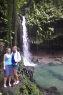 Dominica island waterfalls