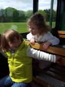 Woburn safari: the train ride