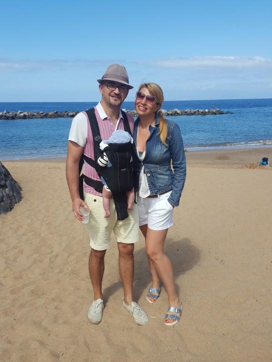 Tenerife with baby - beach