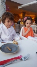 Sani with kids: Ammos