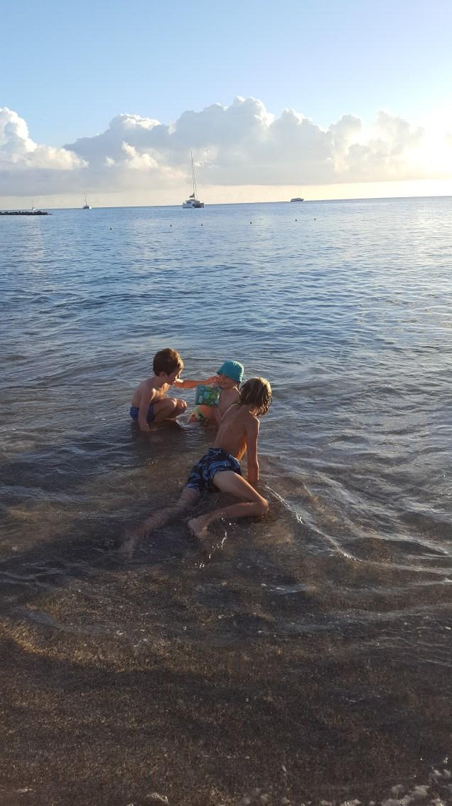 Nevis with kids: Four Seasons, the beach