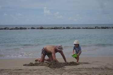 Nevis with kids: Four Seasons, the beach