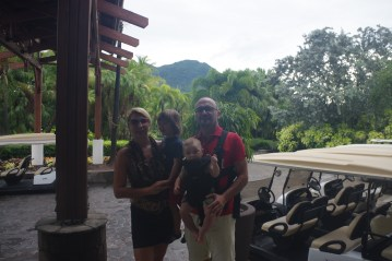 Nevis with kids: the buggy ride