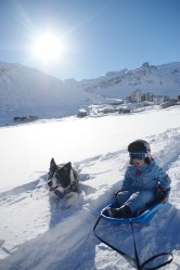 Tignes with kids