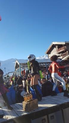 Apres ski Tignes