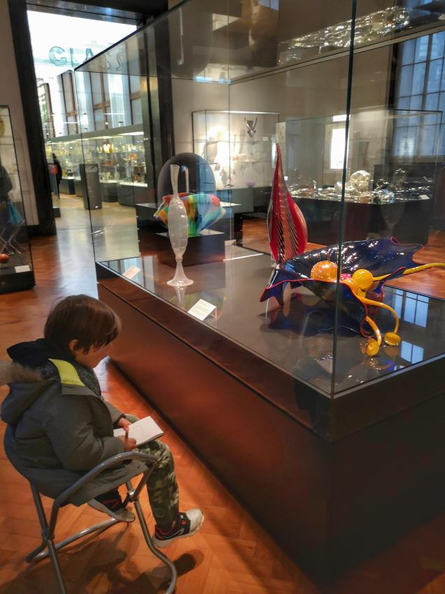 Easter activities for kids in London V&A