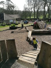 Day out Dyrham Park: Old Lodge play area