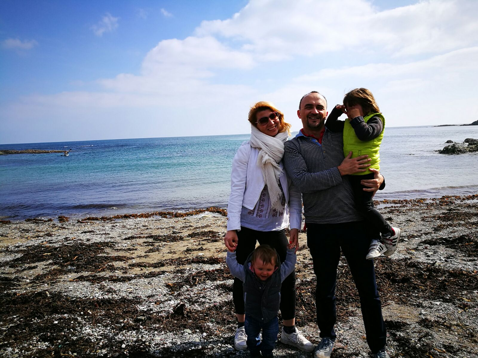 Cornwall with kids: Talland bay beach