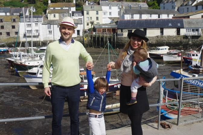 Cornwall with kids : Polperro