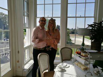 Coworth Park afternoon tea