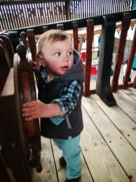 Day out Devon: inside playground