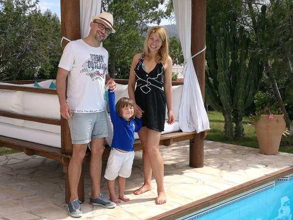 Ibiza with kids: the villa