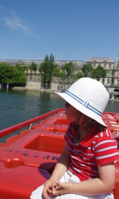 Bateaux Mouches and 3.5 years old