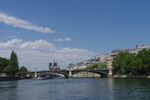 View from Bateaux Mouches