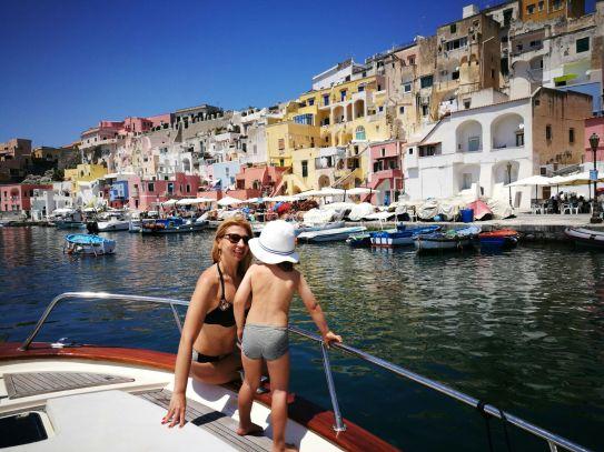 Italian island hopping: Sailing in Procida