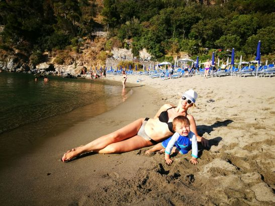 Baia di San Montano beach