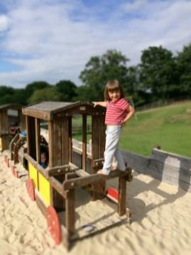 Godstone Farm Surrey playgroun