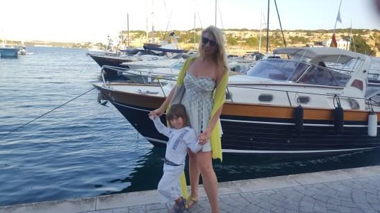 Menorca with kids: Mahon harbour