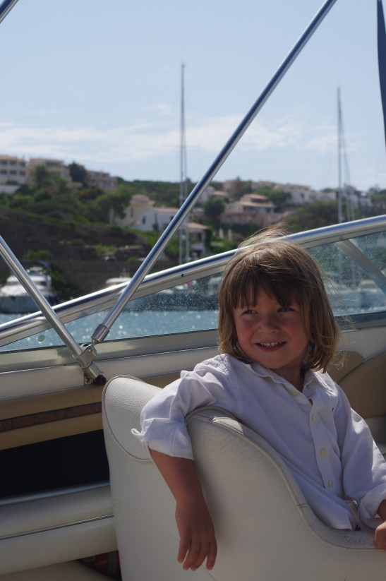 Sailing in Menorca