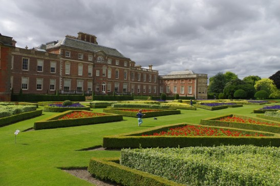 National Trust near London - Wimpole Estate with kids: the formal gardens