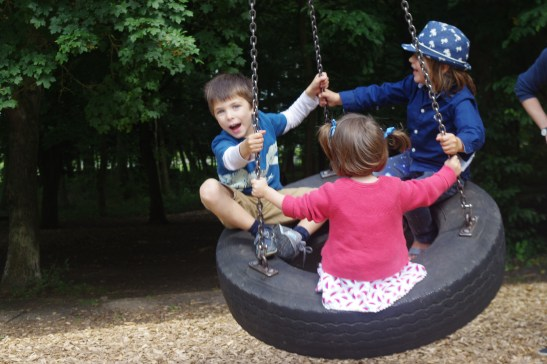 Wimpole Estate with kids: the adventure playground
