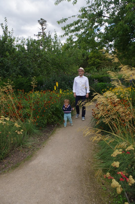 National Trust Wimpole Estate with kids: the gardens