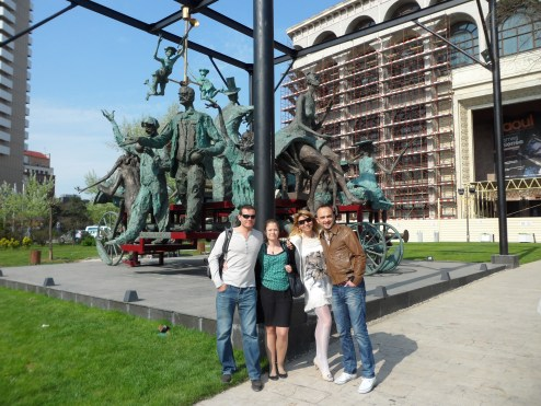 7 days in Romania: National Theatre