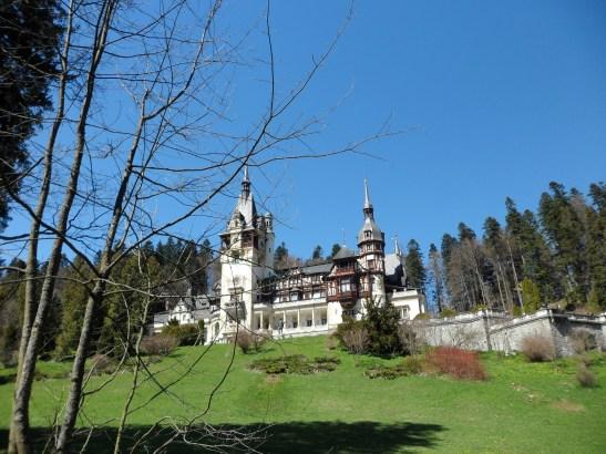 Romania travel Castelul Castelul Peles