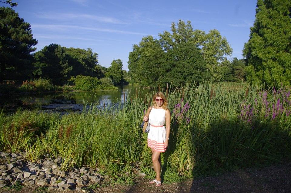 Kew gardens in summer