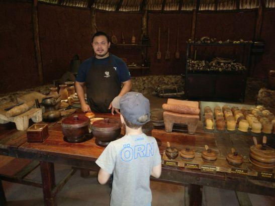 Mexico family holidays : Uxmal Chocolate Museum
