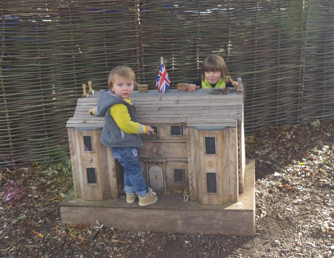 Ham House Richmond - autumnal splendours and Halloween fun