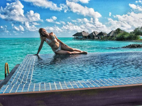 Best places to swim with wild dolphins: Maldives