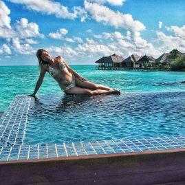 Maldives luxury water bungallows : Taj Exotica
