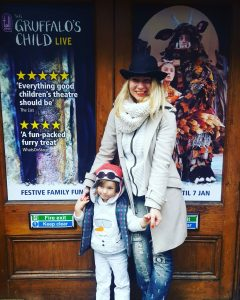 Gruffalo's child theatre - ferral child & mother