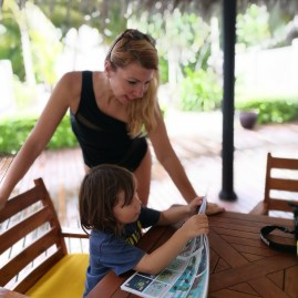 Scoop magazine on Maldives with kids holidays