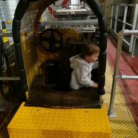 Mail Rail with kids