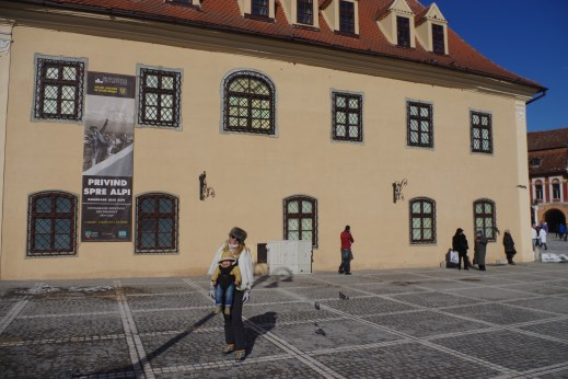 Brasov with baby