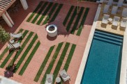 Casa Ladico Mahon patio: hotel Port Mahon Menorca