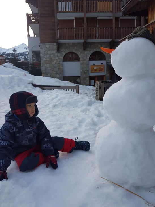 Best Courchevel restaurants & top things to do in Courchevel: build a snowman