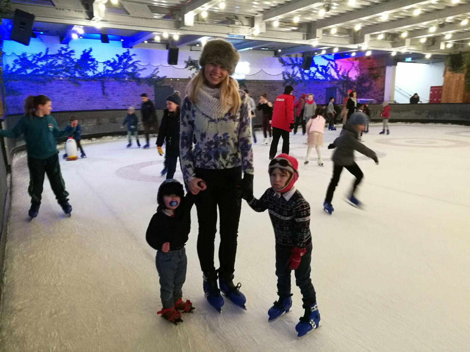 indoor ice skating London