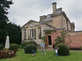 Ickworth House with kids: boutique hotel Suffolk