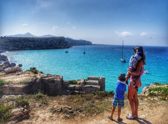 3 days in Favignana - Favignana best beaches: Calla Rossa