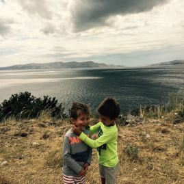 Croatia coast with kids