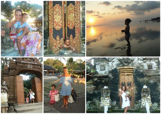 Bali with Veruschka and her daughter - best professional photographer in London