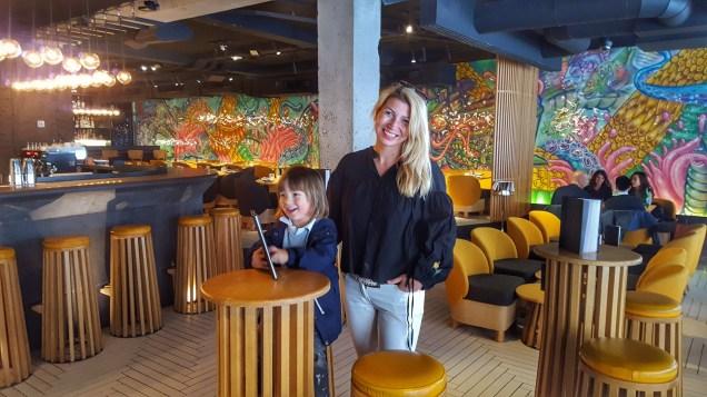 Chotto Matte, Soho with kids