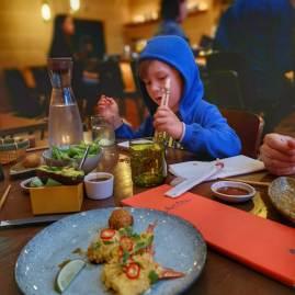 Sticks & sushi with kids