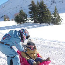 Ski with toddler - Esprit, Tignes